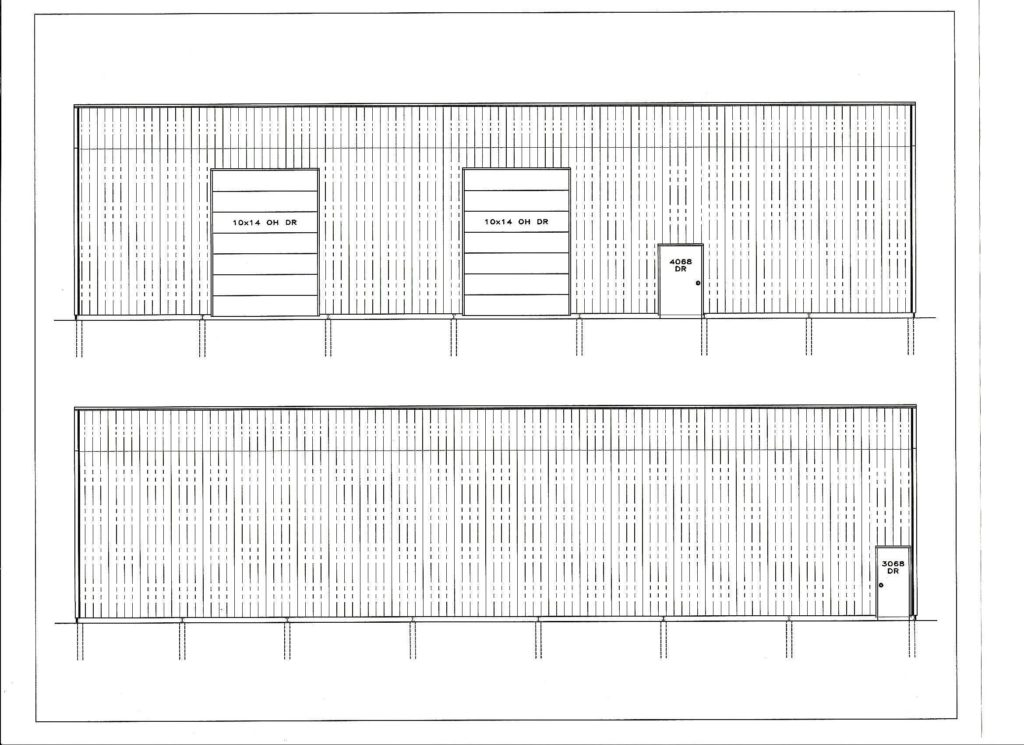 Profile of proposed Madison High Fieldhouse and hitting barn. Donate Today!