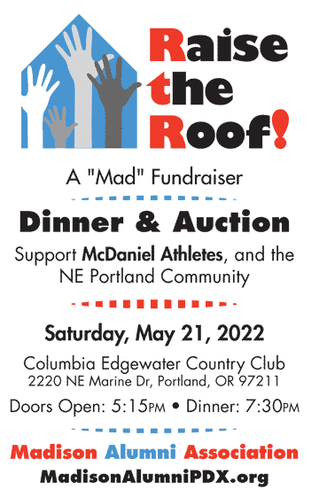 May 21, 2022 - MAD Dinner and Auction Mini flyer