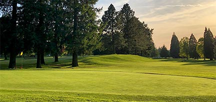 Rose City Golf Course - wide shot of fairway