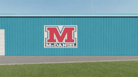 McDaniel Field House rendering screen shot